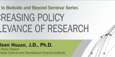 The logo of the B3 seminar series with topic