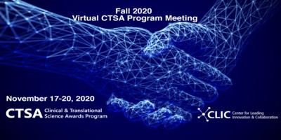 2020 CTSA Program Meeting banner