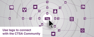 Tags help you connect on CLIC