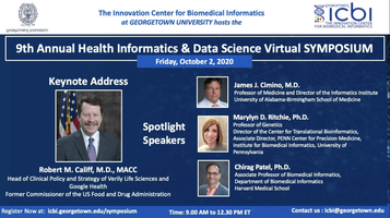 Logistic information for the 9th Annual Health Informatics & Data Science Virtual Symposium