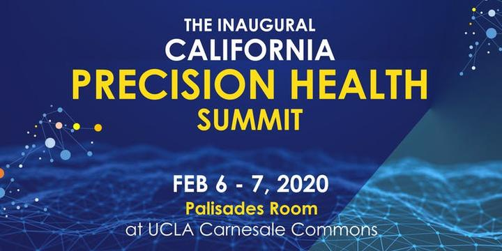 California Precision Health Summit Feb. 6-7 at UCLA
