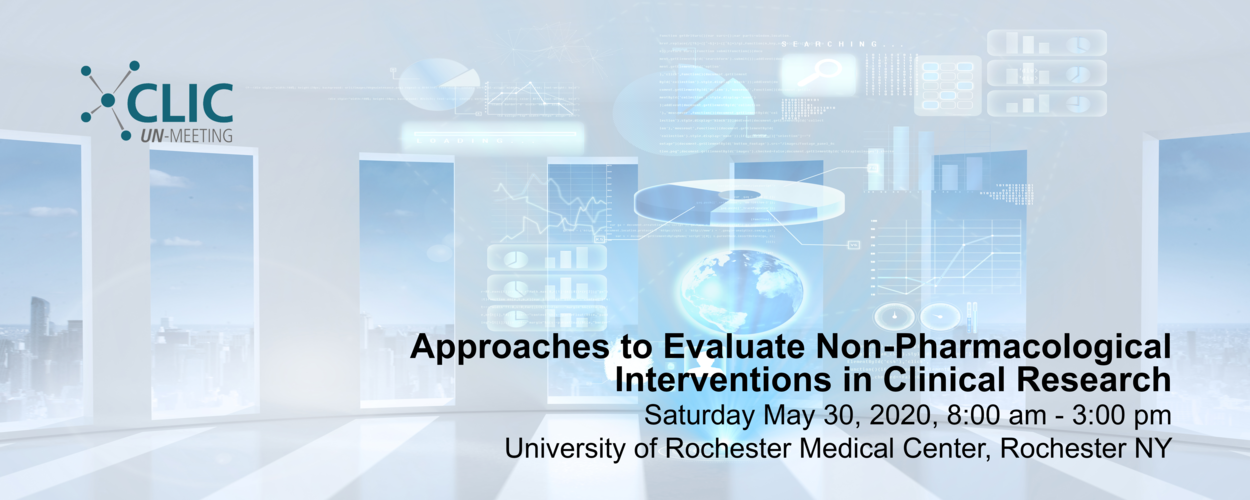 Approaches to Evaluate Non-Pharmacological Interventions in Clinical Research