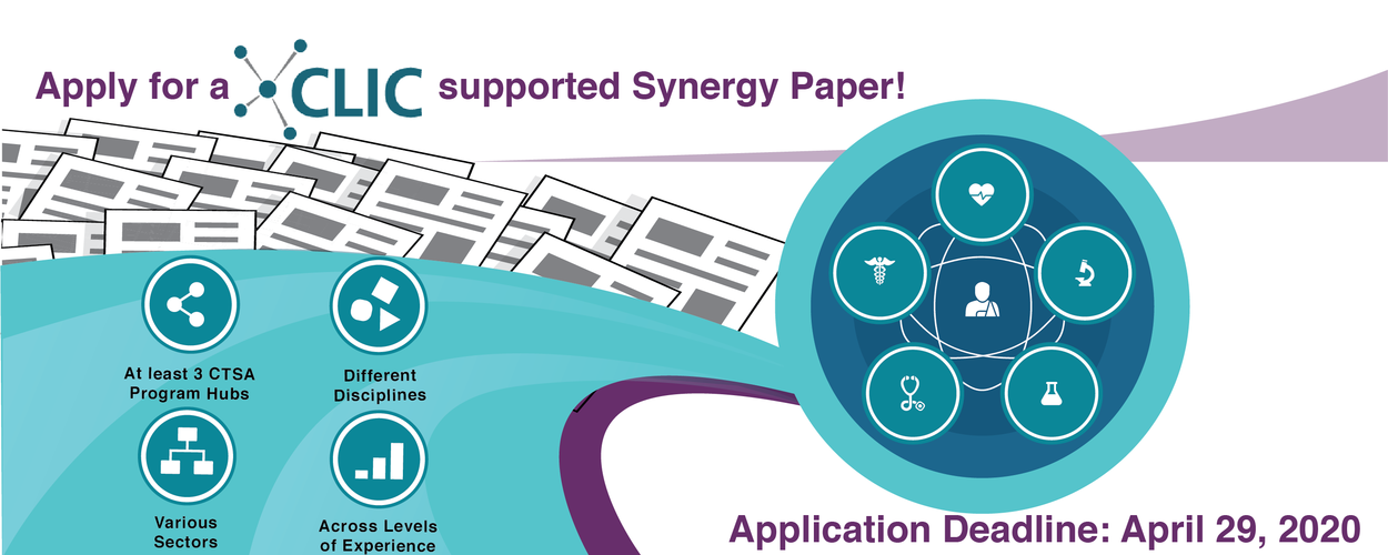 synergy paper_banner Application Due April  29, 2020