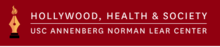 Logo for Hollywood Health & Society at the USC Annenberg Norman Lear Center